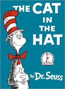 Cover image of The Cat in the Hat by Dr. Seuss