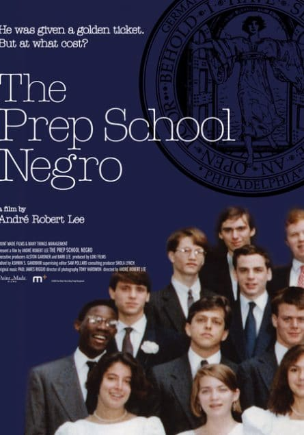 """The Prep School Negro"" Movie Poster"