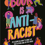 "Book cover of ""This Book is Anti-racist"""