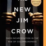 "Book cover of ""The New Jim Crow"""