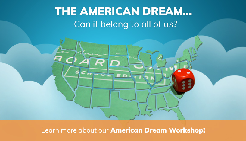 The American Dream Workshop banner